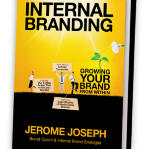 Internal Branding Book- Motivational Speaker | Jerome Joseph