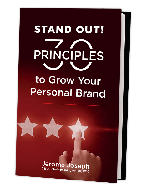 Stand-Out-30-Principles - Motivational Speaker | Jerome Joseph