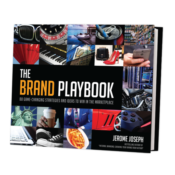 The Brand Playbook Cover - Motivational Speaker | Jerome Joseph