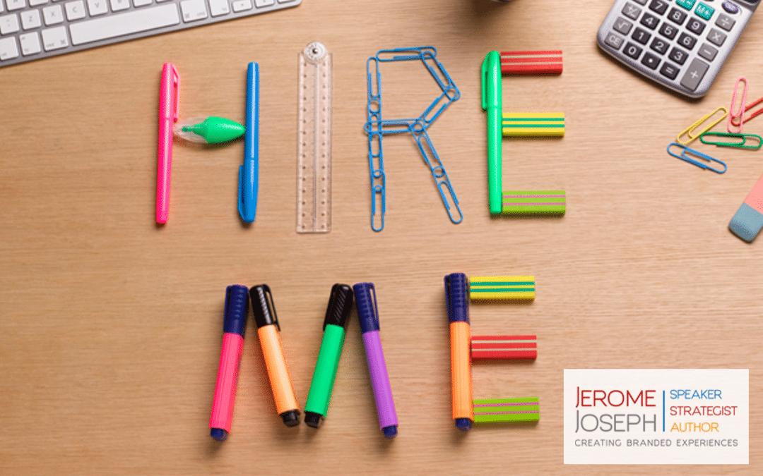 Importance Of Hiring An Inspirational Keynote Speaker | Jerome Joseph